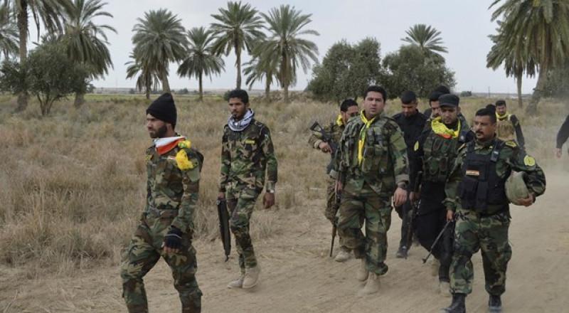 الحشد الشعبي يحرر معبر تل صفوك الحدودي مع سوريا
