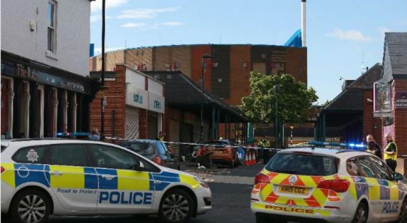 بريطانيا: مسلّح بسكين يحتجز رهائن في منطقة نيوكاسل