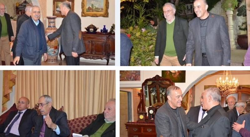 سلام اقتصادي! جلسة عمل بين وزير المالية كاحلون ورئيس الحكومة الفلسطيني رامي حمدالله!