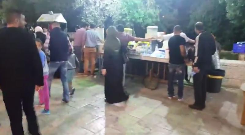بالفيديو، القدس : اجواء شهر رمضان في باب الاسباط
