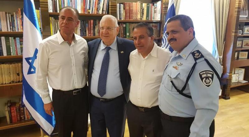 رئيس الدولة يجتمع اليوم مطوّلا مع المفتش العام للشرطة ورئيس بلدية كفر قاسم