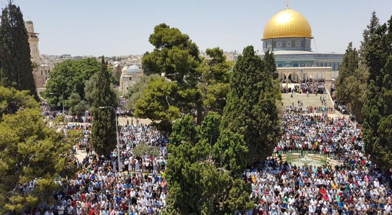 خطيب الأقصى: المسجد الأقصى والبراق للمسلمين فقط