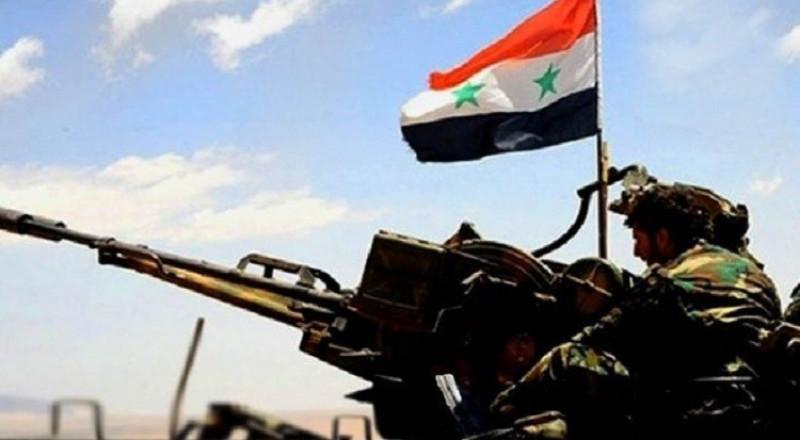 الجيش السوري يصل إلى الحدود العراقية ويتوغل في ريف الرقة