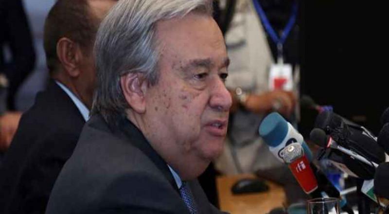 الأمين العام للأمم المتحدة يدعو إلى توحيد الجهود الدبلوماسية لحل الأزمة مع قطر