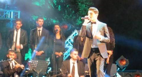 صور جديدة من حفل محمد عساف في مهرجان برك سليمان بيت لحم