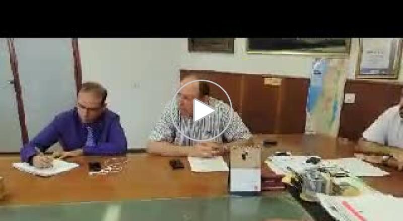 المدير العام لوزارة الصحة يزور جلجولية وكفر برا تمهيدا لاعلان المناقصة بربطهما الى الشفدان