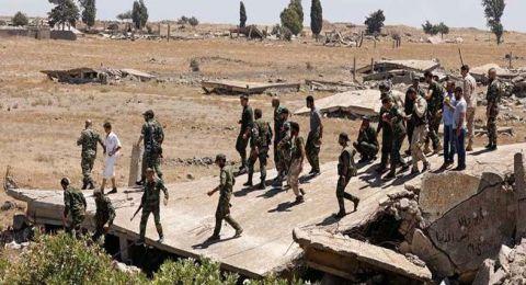 مقتل ستة عسكريين سوريين نتيجة قصف من المسلحين