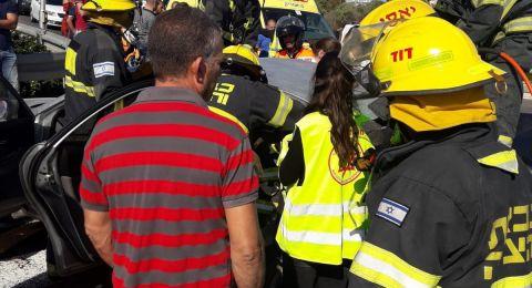 عكا: حادث طرق يسفر عن 6 اصابات بين بالغة ومتوسطة