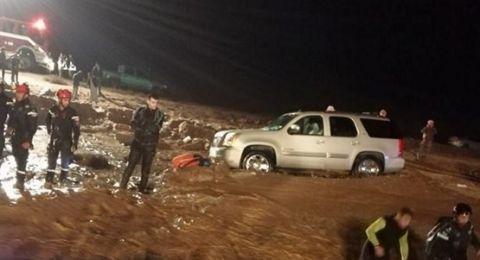 الإعلان عن فقدان 3 إسرائيليين في سيول الأردن