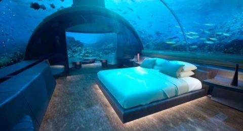 افتتاح أول فندق تحت الماء