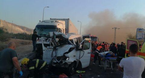 تمديد اعتقال سائق الشاحنة التي أدت الى مقتل 6 مقدسيين يوم أمس