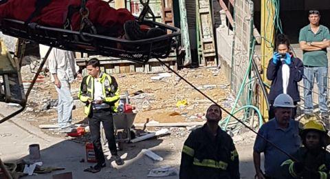 إصابات متفاوتة لعمال بحوادث منفصلة في مركز البلاد