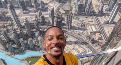 ويل سميث يستمتع في سكي دبي على أنغام أغنية سعد المجرد