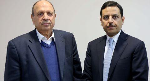 الحسيني يطلع السفير الأردني على الوضع في مدينة القدس