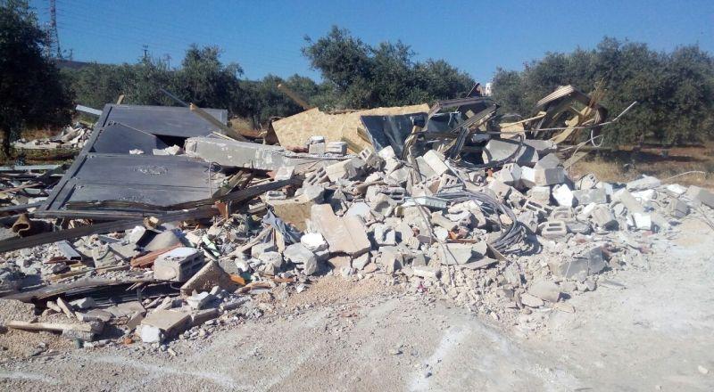 هدم منزلين في القدس بحجة عدم الترخيص