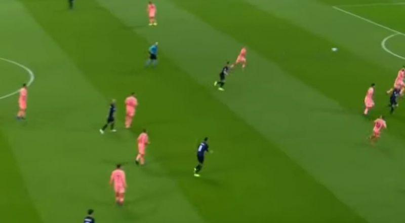 لهذا السبب ظهر برشلونة بلون غريب في دوري الأبطال