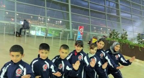 مشاركة واسعة لمنتخب رابطه الكراتيه التقليدي لللاولاد في بطولة تركيا المفتوحه