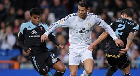 رونالدو يقود ريال مدريد لفوز مهم على سيلتا فيغو
