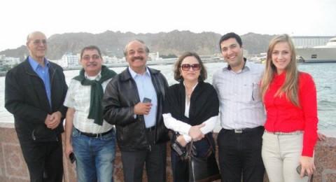 دلال أبو آمنة تغني القضية في سلطنة عُمان