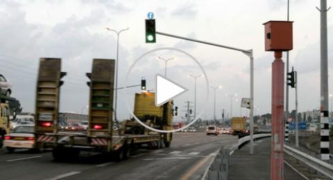 كاميرات الإشارات الضوئية والسرعة تقلل بـ 47% عدد حوادث الطرق