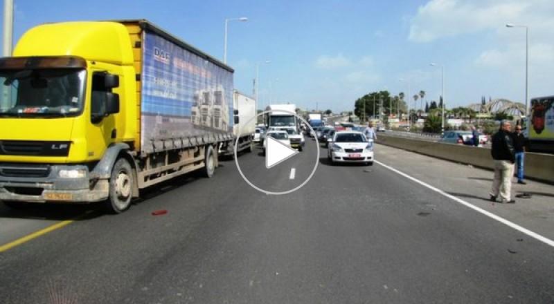 طمره : إصابة خطيرة لسائق سيارة على مفرق طمرة
