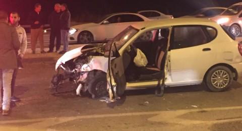 إصابات خطيرة بحوادث طرق قرب طمرة، وكفر قرع والخليل .. ومسن يصطدم بمحل في تل أبيب