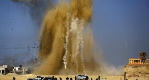 إسرائيل تجدد قصفها في غزة .. والمقاومة تهدد