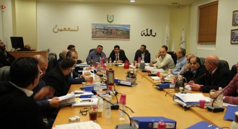 بلدية باقة تعقد جلسة تداولت عدة قضايا منها المصادقة المبدئية لشراء مبنى شركة بيزك