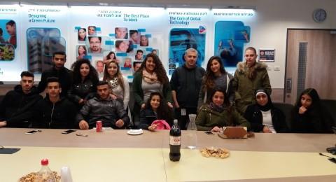 حلمي الشافعي - عكا: مشاركة طلاب في جولة تعليميّة في شركة intel