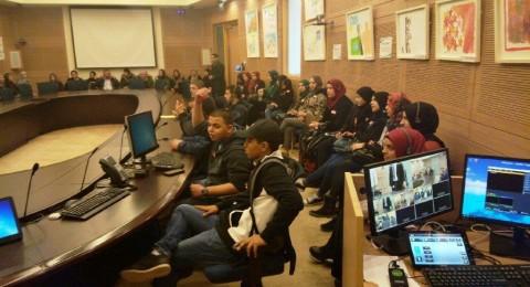 النائب أبو عرار يلتقي طلاب من الثانوية الشاملة في كفر قاس