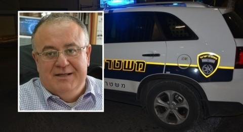 المتابعة تدين اطلاق النار على بيت رئيس بلدية الطيرة مأمون عبد الحي