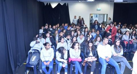 مشاركة فعالة وإيجابية لطلاب مدرسة أورط على أسم حلمي الشافعي عكا لبرنامج الحذر على الطرق