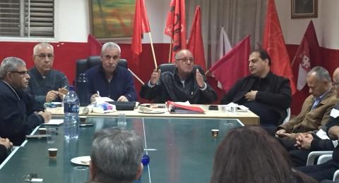 لجنة منطقة عكا للحزب الشيوعي تتجنَّد من أجل إحراز نصر جديد في انتخابات الهستدروت والمعلمين
