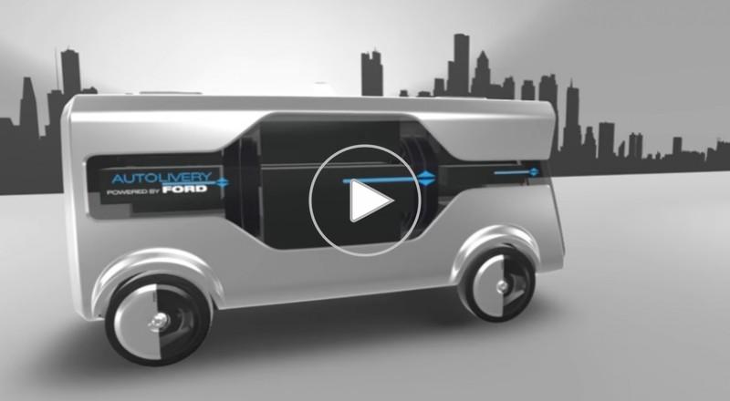 فورد تطور سيارة شحن ذاتية القيادة من أجل