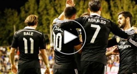 ريال مدريد يتغلب على رايو بصعوبة بهدفي كريستيانو وخاميس