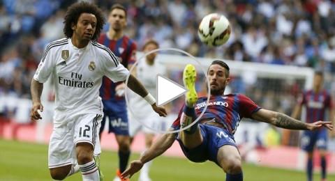 ريال مدريد يكتسح ايبار بثلاثية ويقلص الفارق مؤقتا مع برشلونة