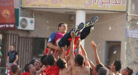 طمرة: فريق الشبيبة البلدي يحتفل لارتقائه للدرجة القطريّة