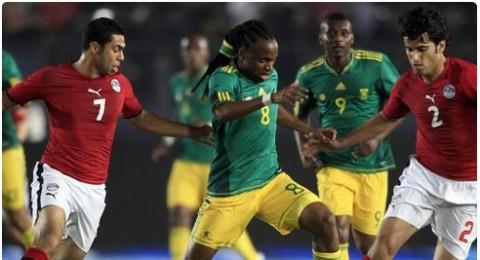 جنوب أفريقيا تبدد فرص الفراعنة في التأهل