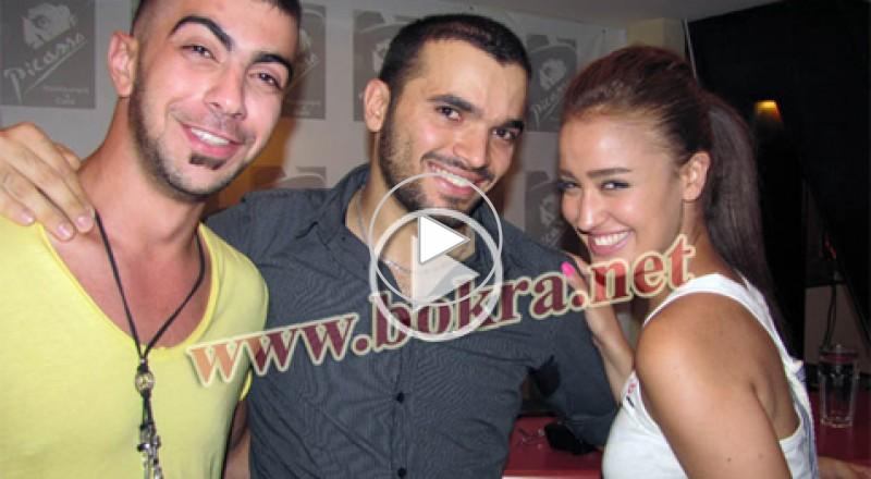 نانا ومحمد رافع نجوم ستار اكاديمي  8 ولقاء حار  في الاردن
