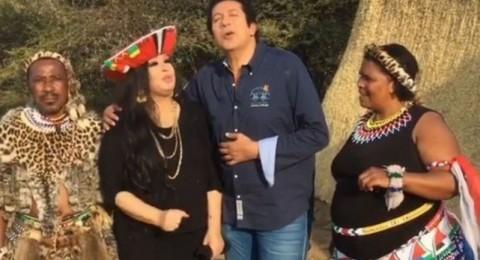فيفي عبده تقع ضحية مقالب هاني رمزي