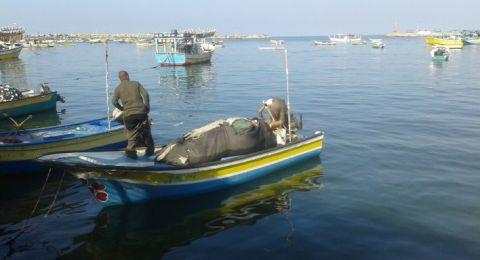 الزوارق الاسرائيلية تطلق النار على الصيادين بغزة