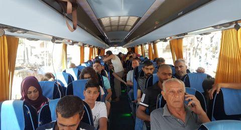 انطلاق الحافلات للمشاركة في