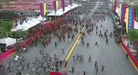 محاولة اغتيال رئيس فنزويلا .. مادورو يتهم كولومبيا والأخيرة تنفي
