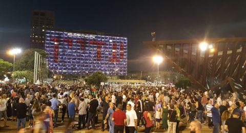 اعتقال متظاهر بعد انتهاء مظاهرة