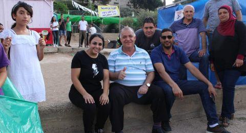 مخيم الناصرة البلدي ينهي اعماله