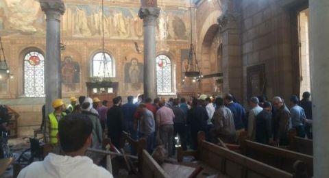 إحباط هجوم إرهابي على كنيسة قرب القاهرة ومقتل المنفذ