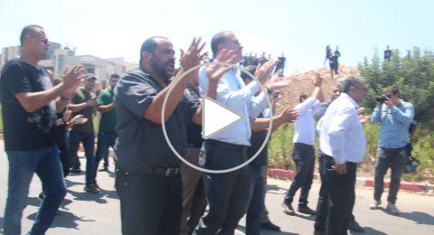 صور وفيديو: الفحماويّون يتصدّون لليمينيّين بهتاف