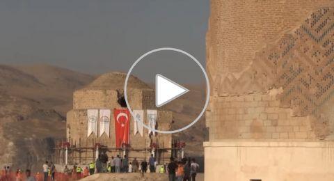 نقل حمّام تركي يزن أكثر من 1500 طن