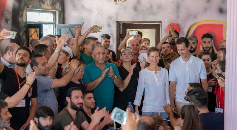 أسماء الأسد تتحدى المرض في أول تعليق لها!