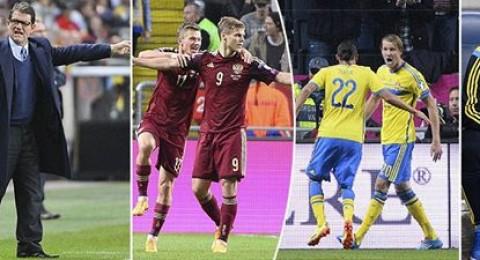 قمة السويد وروسيا تنتهي بالتعادل.. والنمسا تلحق بالصدارة